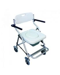 ALUMINIUM SHOWER AND COMMODE CHAIR CM672L SINJUNE
