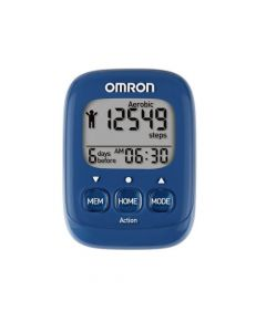 Omron HJ-325 Walking Style Pedometer Blue