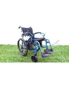 PW800AX Foldawheel DualFunction Power Wheelchair