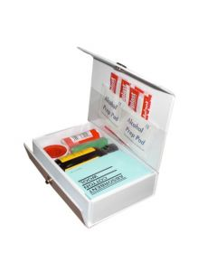 PVC First Aid Kit Mini 9 Items