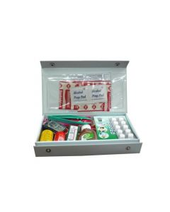 PVC First Aid Kit Auto 17 Items