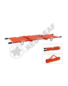 Double Fold Aluminium Stretcher w/Straps