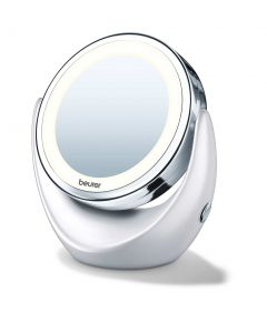 Beurer BS49-Illuminated Cosmetics Mirror 11 cm(Portable, battery op.)